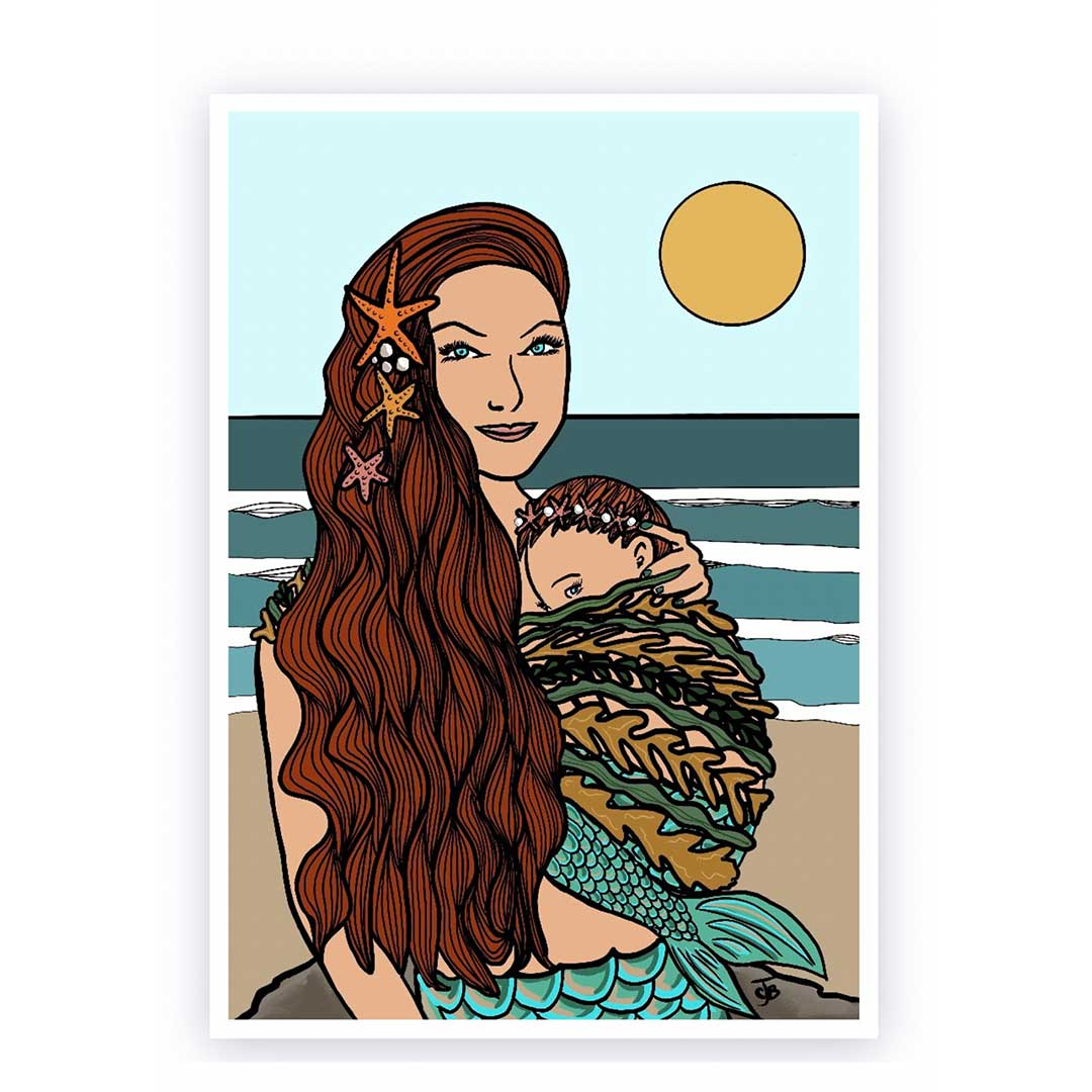 spellbound by the sea mermaid mama collection