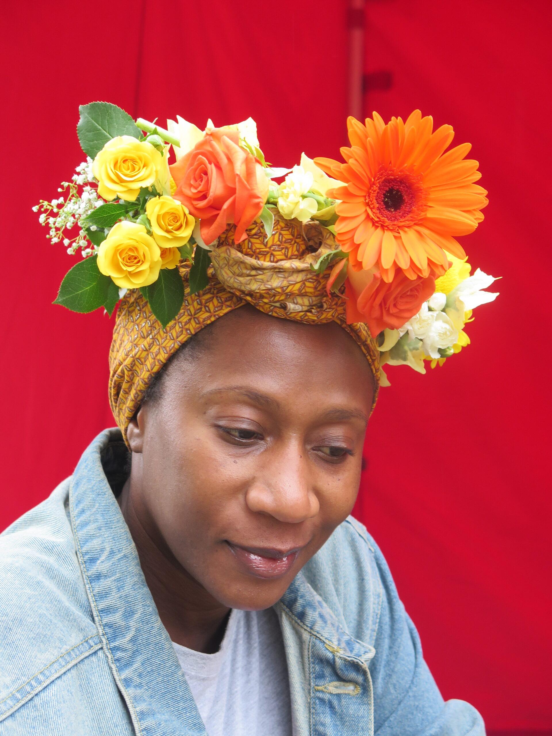 wonderful flower crown