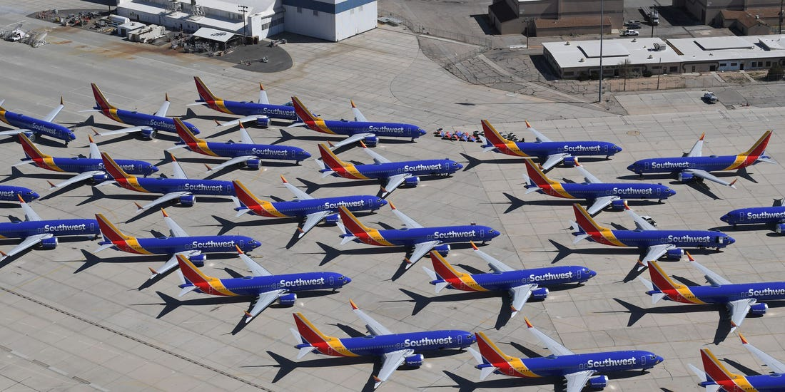 Southwest Airlines loses $1.5 billion in Q2 2020 with Revenues down 82.9% Y-O-Y