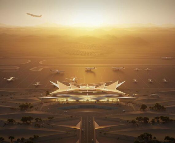 Amaala Airport in Saudi Arabia