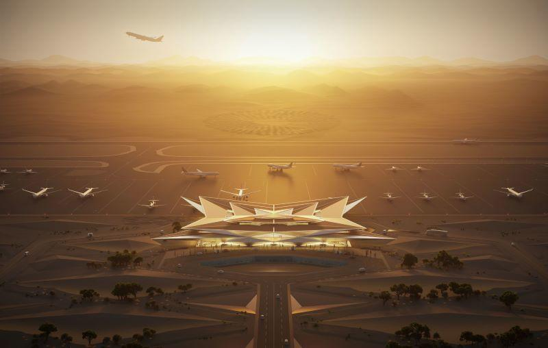 Luxury Resort in Amaala, Saudi Arabia will be accompanied with a luxurious 'mirage' airport by 2023