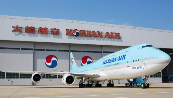 Korean Air Boeing 747 aircraft