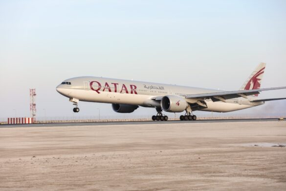 Qatar Airways Boeing 777 aircraft