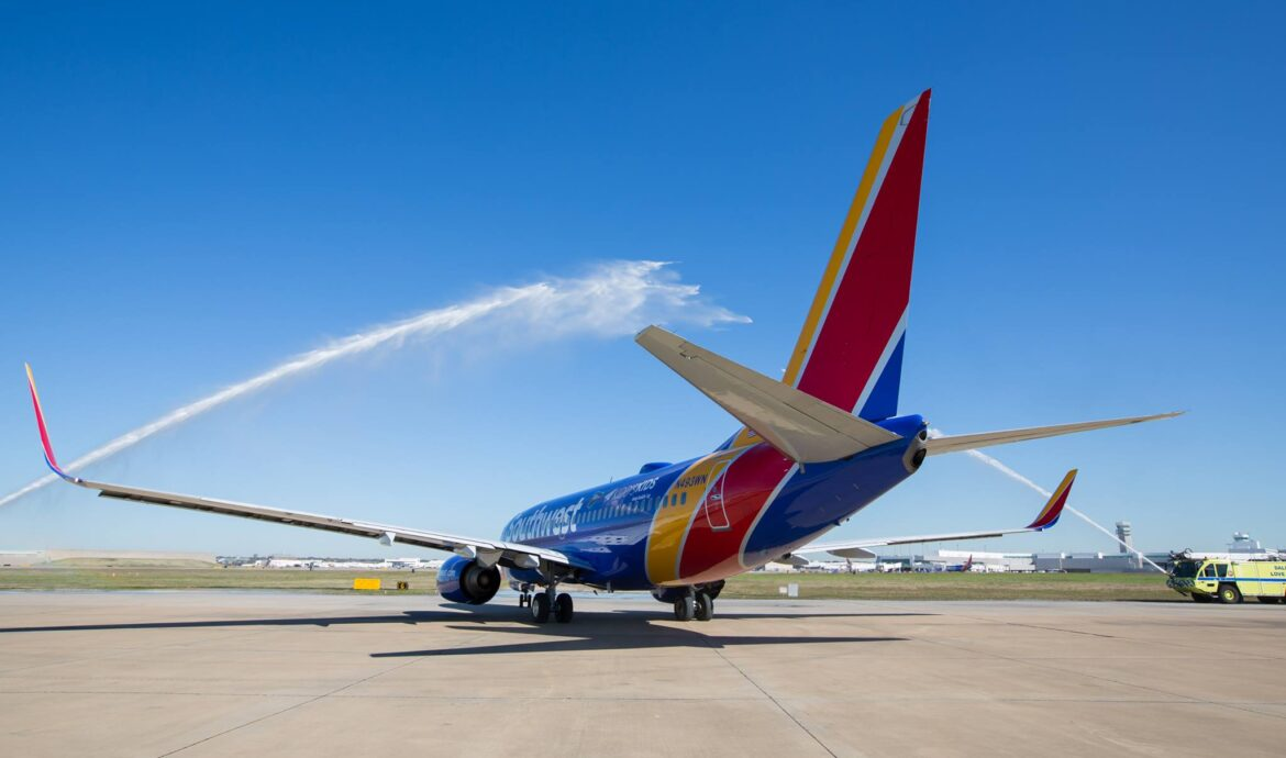 Southwest Airlines daily cash burn was $19 million in August 2020