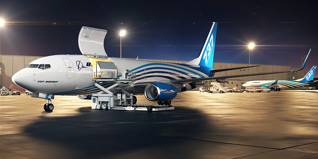 Boeing wins order for 2 B737-800BCF aircraft and agrees for more freighter conversion lines to meet demand
