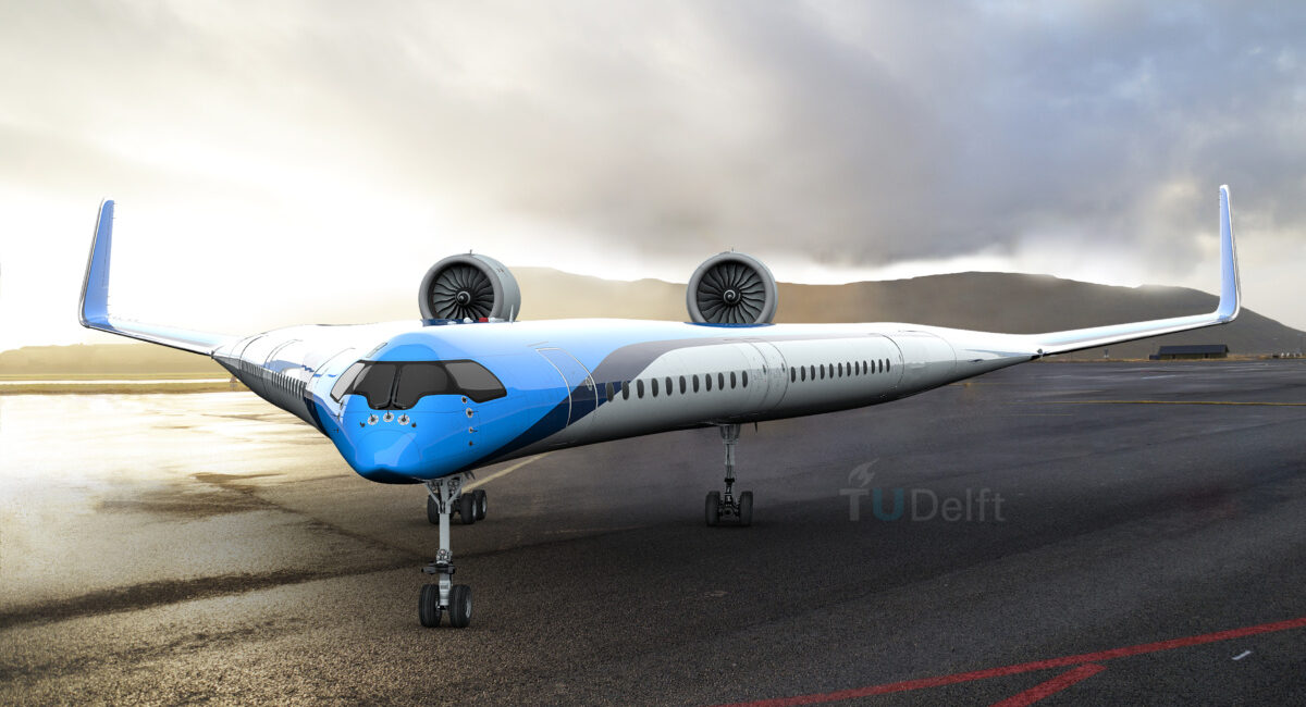 Would you ever fly in A V-Shaped Plane with no Tail ...