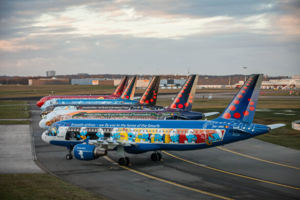 Brussels airlines aircraft - Belgian Icons