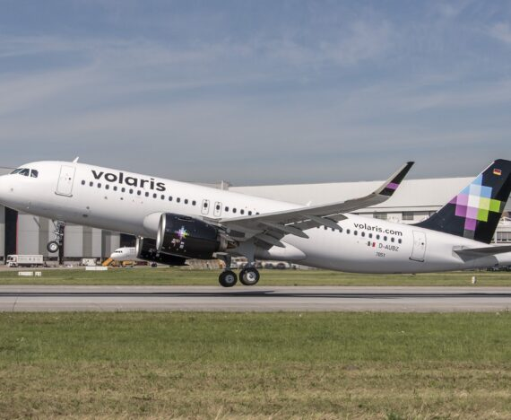 Volaris Airbus A320neo aircraft