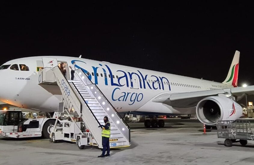 Sri Lankan Airlines Cargo Airbus A330-200 aircraft