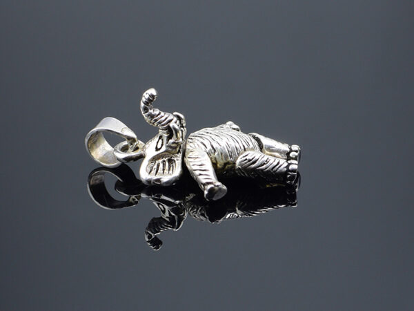 925 Sterling Silver Locket Elephant Pendant Model SYC 2LG64. This is ideal for males and females. Unique piece comes on contemporary style perfect for all outfits. Suitable for daily use ,office use, and perfect gift for our loved ones. The main feature of this product is each part of silver elephant pendant is rotatable including hands and legs. So we can adjust it to any shape. Importance of 925 Sterling Silver : We are aware of the trending style and beauty of Sterling silver but the Most Important Part of Sterling Silver 925 is the health benefits. Silver ions in Silver material has a proven record of antibiotic nature. The excellent way to obtain health improvement from 925 Sterling silver is whenit get in touch with the skin. Silver is antibacterial too and helps to improve blood circulation and help remove toxins present in the human body. Some studies even mention about the defensivepower of Silver JewelryagainstHazardous electromagnetic radiations emittingfrom Mobile phones or Laptops. Electrical and Thermal conductivity of Sterling silver 925 is the highlighted quality which indicate the capacity of Sterling silver to distribute electrical power as well as heat across the body.This is why Sterling silver boost the blood circulation, typical healing property and maintain the heat balance. If illnesses arrives , temperature level increases or hormonal change occurs Sterling silver wearing get appear more darker in color. Original 925 Sterling silver are more than 99% non allergic and skin friendly in nature. But Cheap Silver Plated Jewelryavailable in popular online sites ( in some websites they even wrongly mentioned it as sterling silver ) are dangerous for Skin especially those who have sensitive skin. We recommendto use Genuine quality Sterling Silver to avail health benefits and to avoid cheap fancy Silver Products. Pure Silver and 92.5 Sterling Silver : 100% Pure Silver also known as Fine Silver is heavily soft in nature , very malleable and most likel