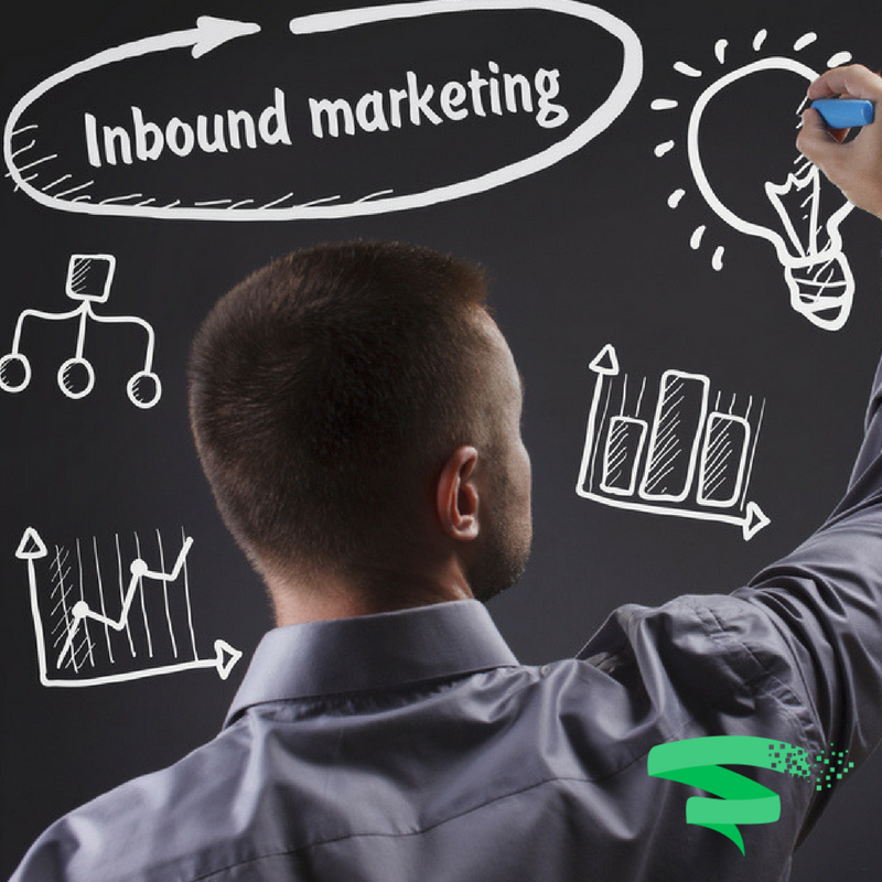 Man writing on board - Inbound Marketing Plan