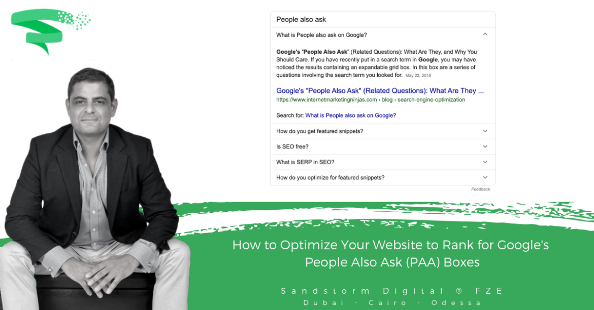 How to Optimize Your Website to Rank for Google's People Also Ask (PAA) Boxes