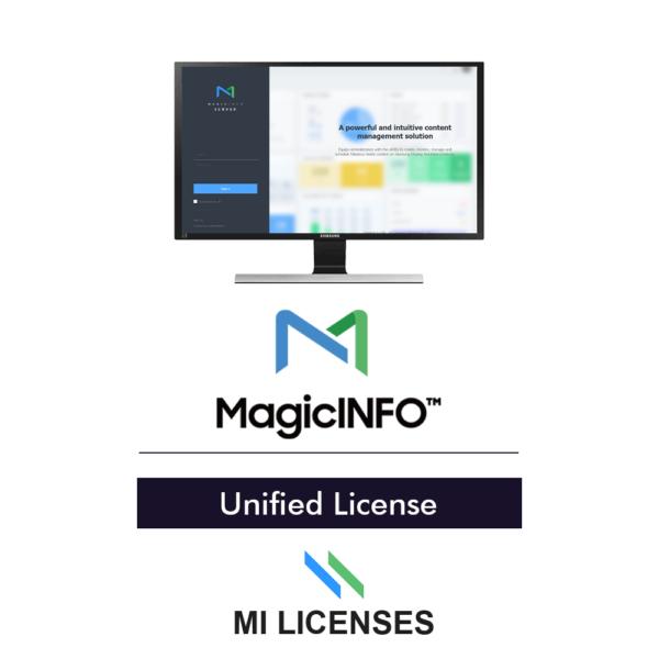MILicenses.com MagicINFO License Unified