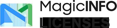MagicINFOLicenses.com MagicINFO Licenses Logo BLK v2 TransBg
