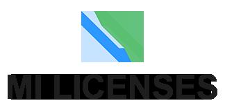 MILicenses.com MagicINFO Licenses Logo BLK v2 TransBg