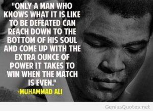 muhammad ali quote power