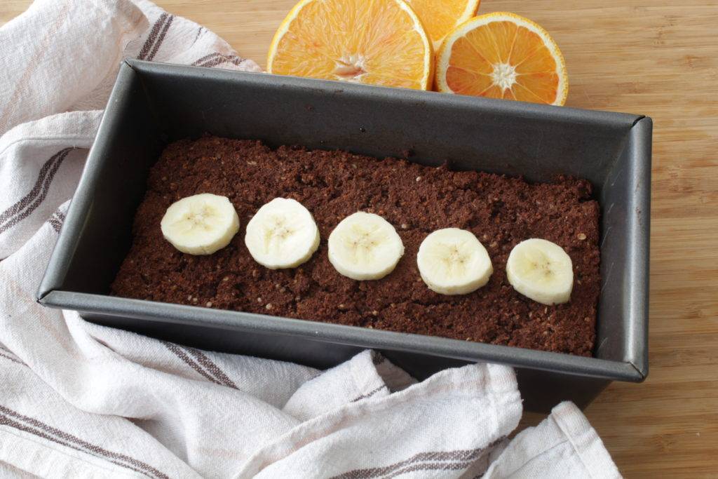 hocolate Banana Protein Loaf