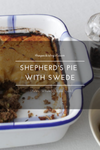 Shepherd's Pie With Swede (Paleo, Whole30, Low Carb)