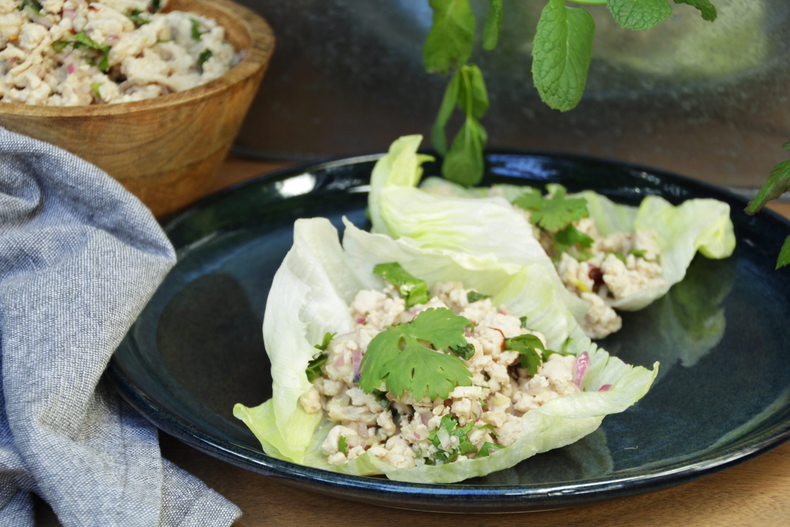 Chicken Larb (Paleo, Whole30, Low Carb)