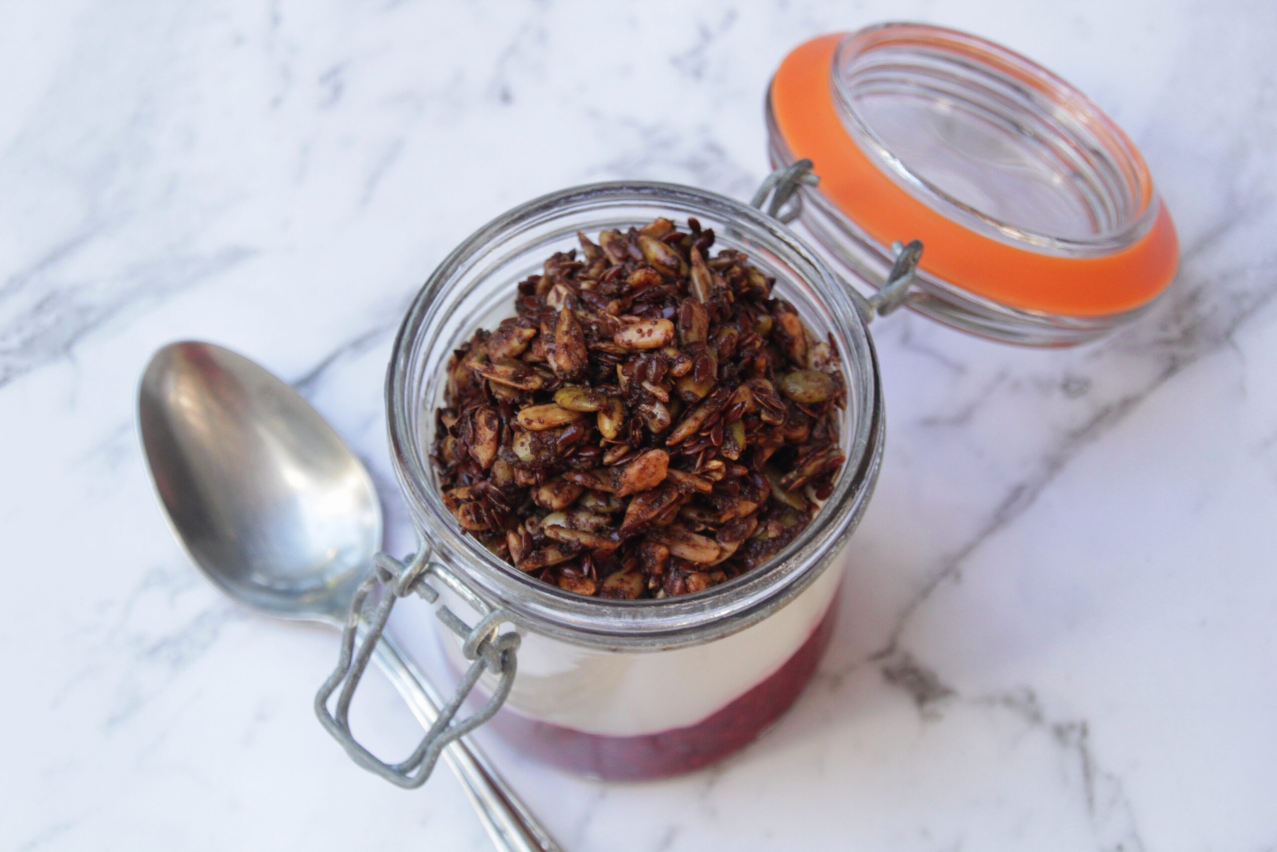 Homemade Chocolate Granola (Paleo, Low Carb, Vegan)