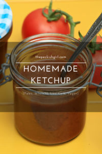 Homemade Ketchup (Paleo, Whole30, Low Carb, Vegan)