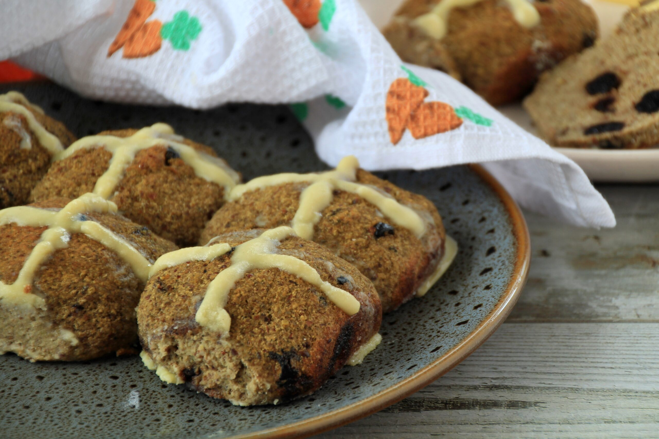 Hot Cross Buns (Paleo, Low Carb)