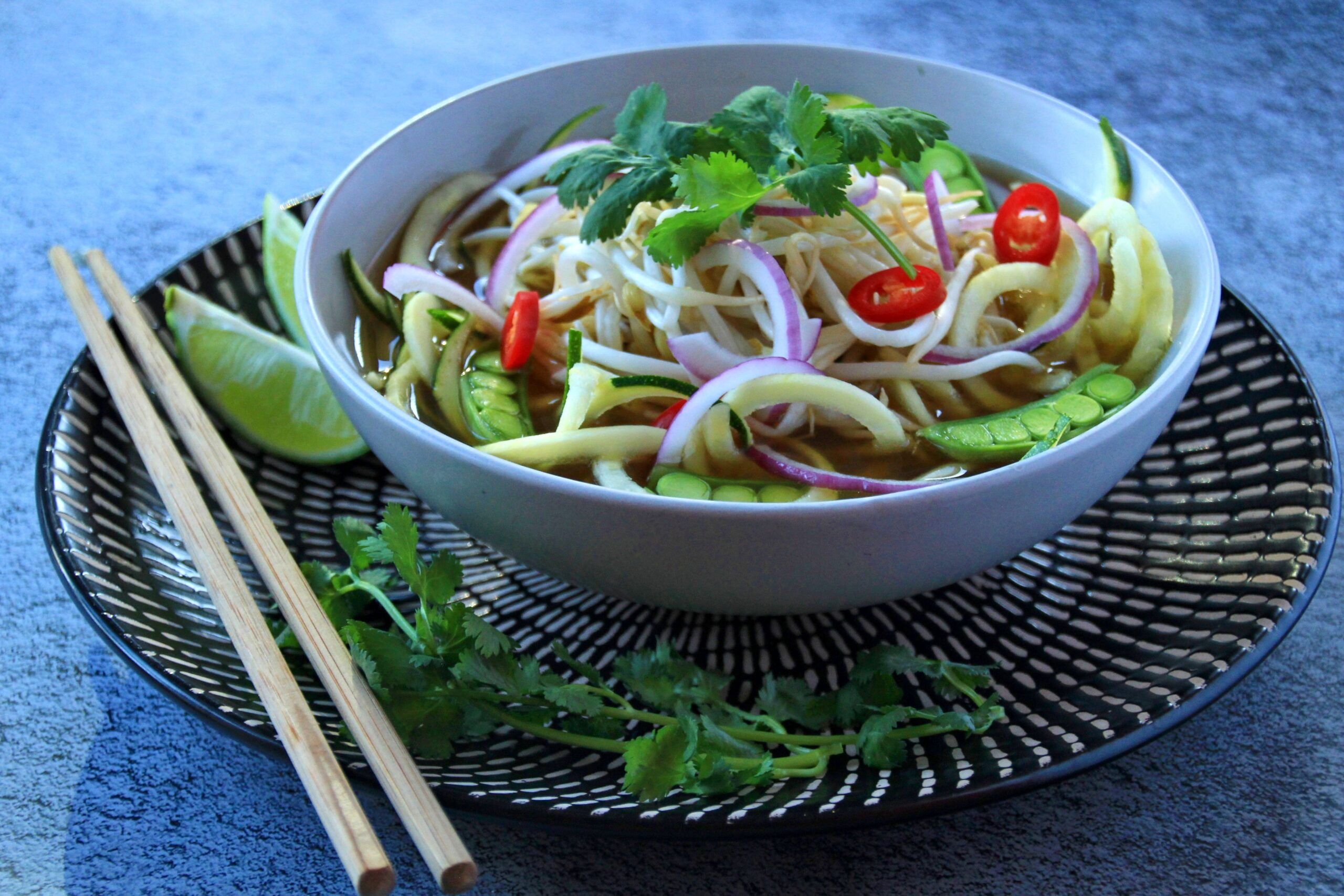 Beef Pho With Zucchini Noodles (Paleo, Whole30, Low Carb)
