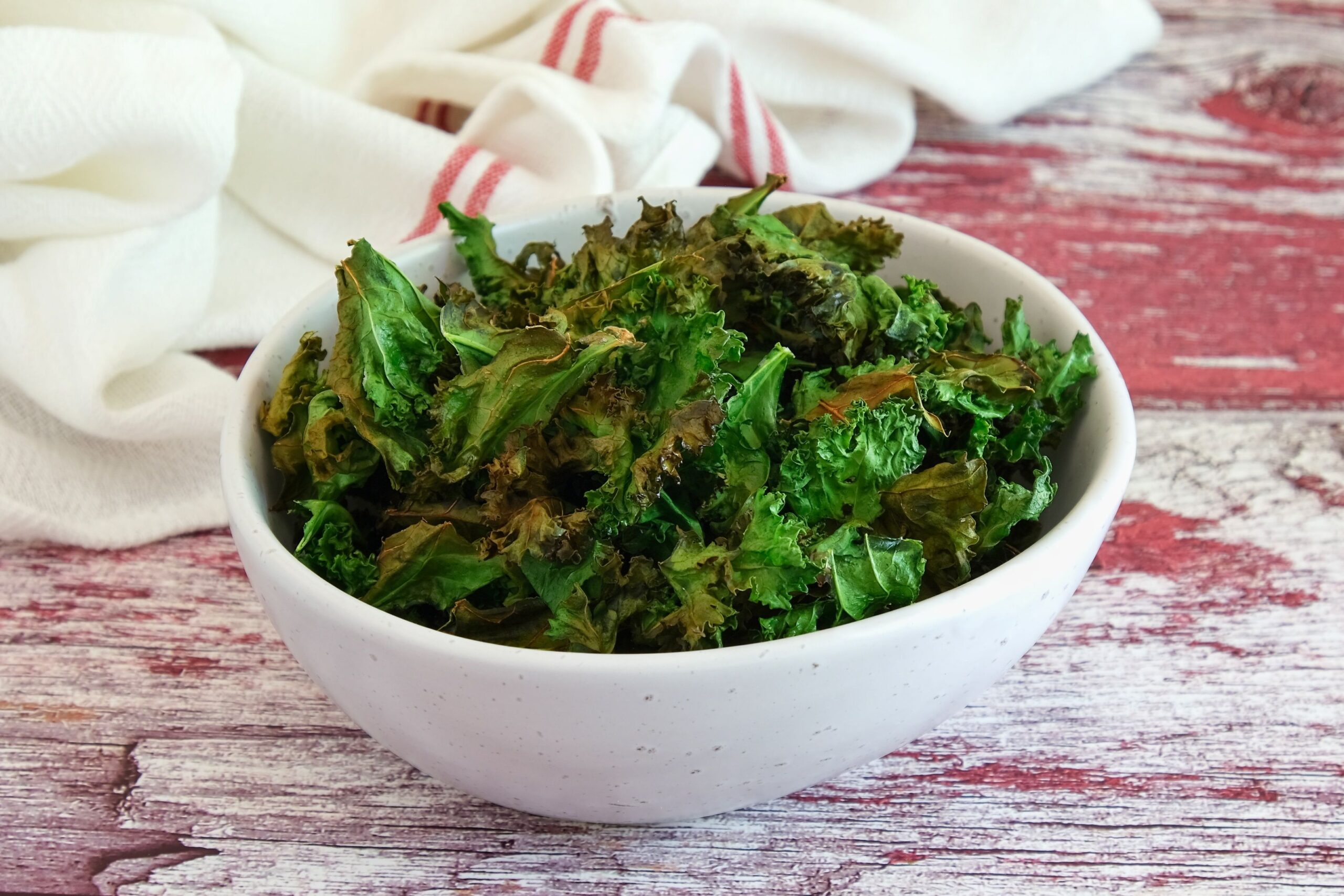 Baked Kale Chips (Paleo, Low Carb, Keto)