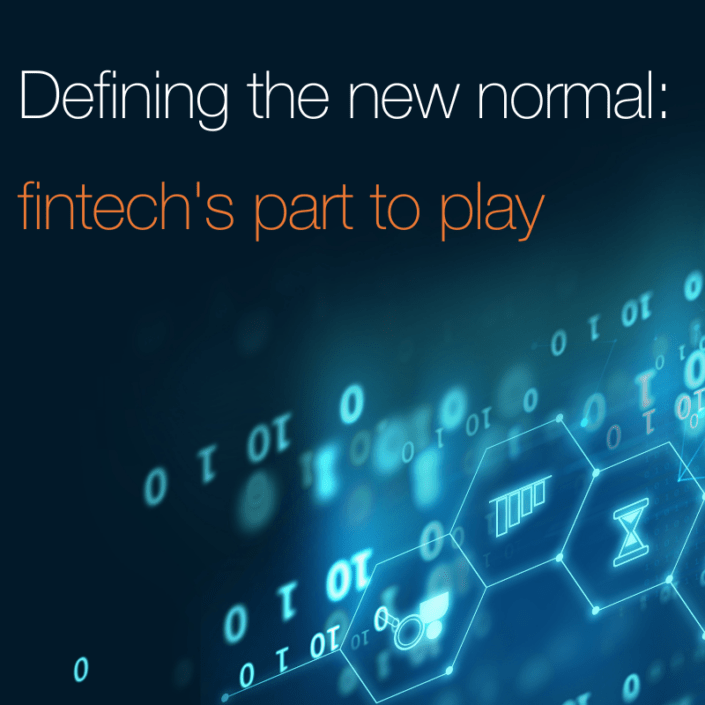 Fintech's party to play