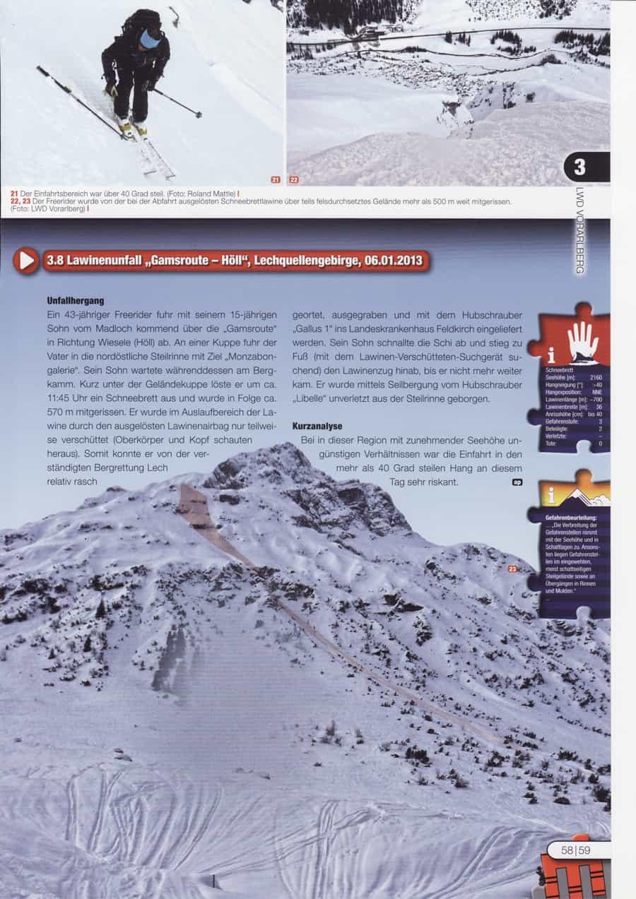 Avalanche Lech Höll
