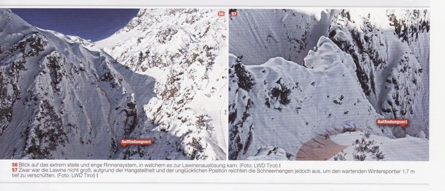 avalanche St. Anton Törli