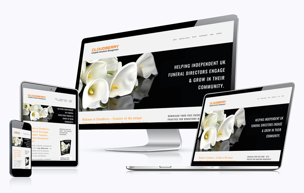 Website design from the Creative Marketing Agency-Digital Marketing