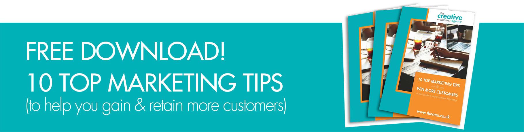 Marketing tips ebook