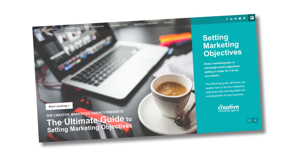 Setting marketing objectives