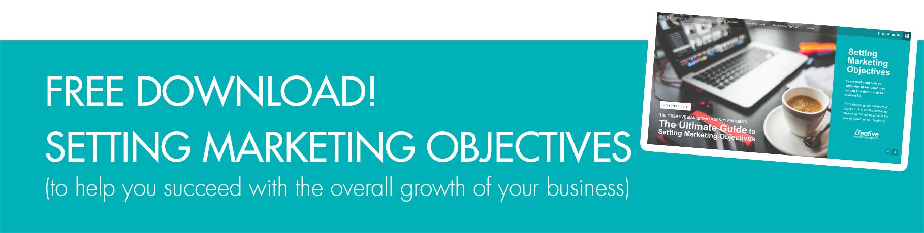 Setting marketing objectives