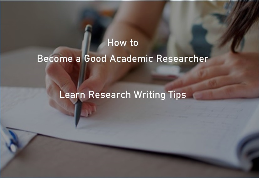 Research Writing tips