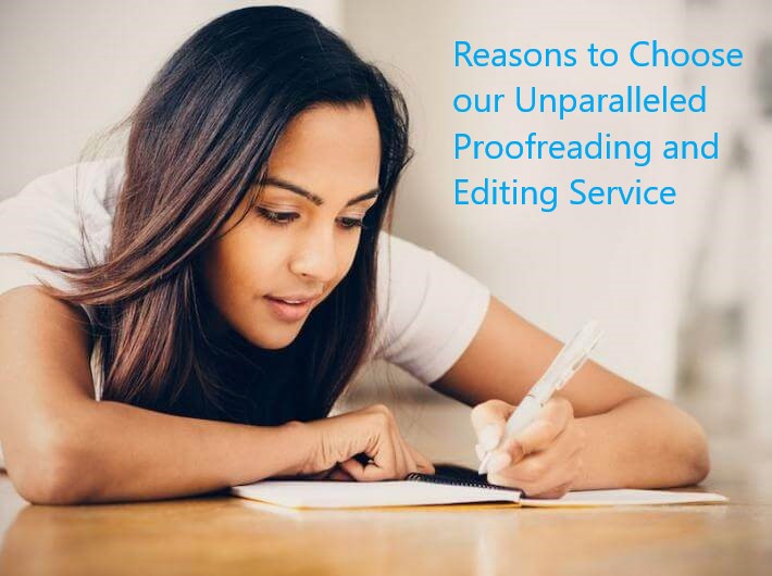 Proofreading and Editing Service