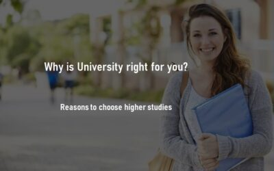 Why is University Right for you? Reasons to Study in a University