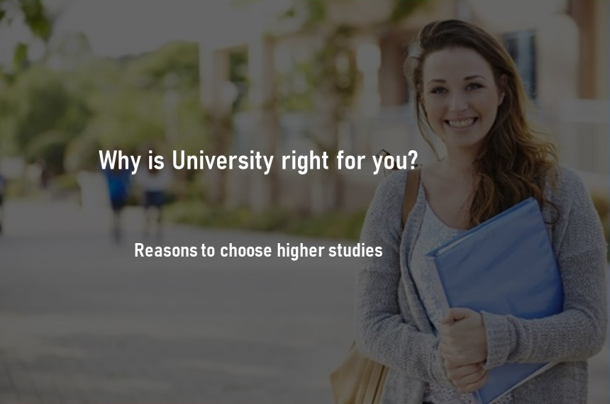 Reasons to study in a university blog