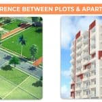 Difference between Plots and Apartments