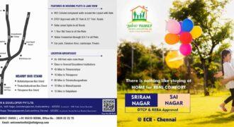 Sriram Nagar Plots for sale in Mamallapuram – Kuzhipandhandalam