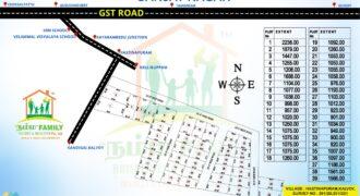 Sanjay Nagar in Hasthinapuram – Guduvanchery Plots for sale