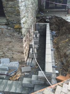 Retaining Wall Liskeard