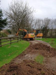 Digger Groundworks Liskeard