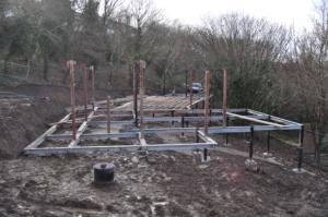New build house Looe, Cornwall