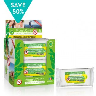 Mousticare Wipes