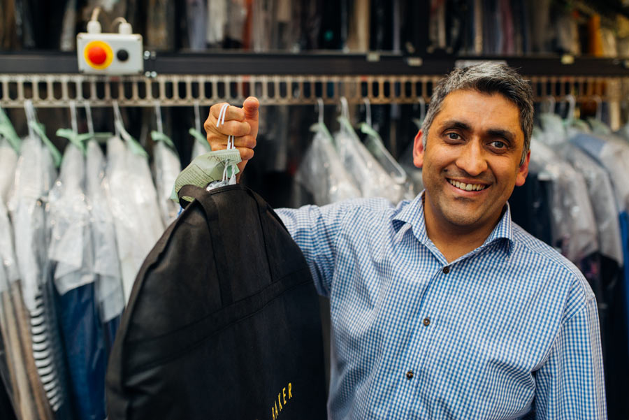 Professional Dry Cleaning and Laundry Services