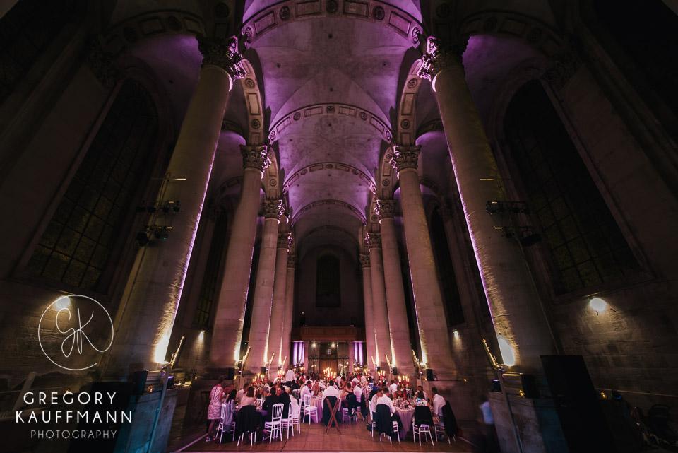 Image de la magnifique salle de réception de l'Abbaye des Prémontrés en Lorraine
