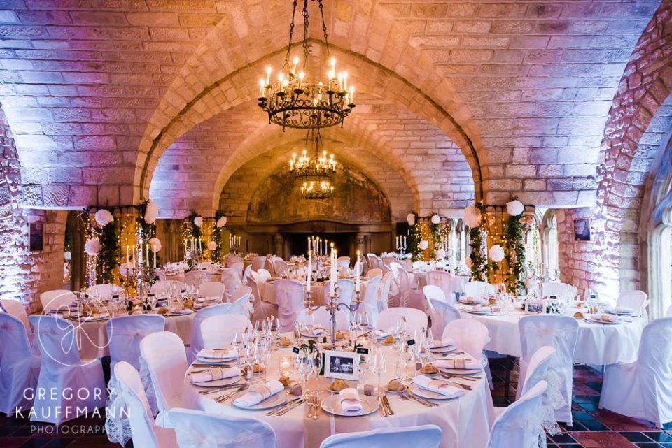 Image de la salle de reception du château de Hattonchatel en Lorraine