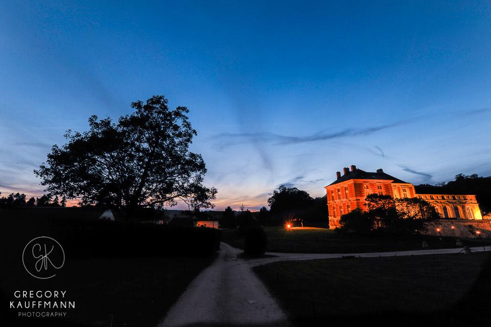 Le château de Vallery en image